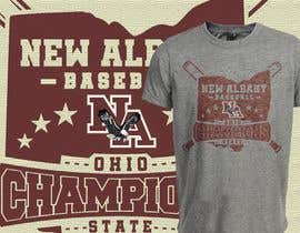 #288 untuk New Albany Ohio Baseball State Champs Tee Shirt Design oleh SayemProdhan