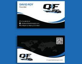 #159 untuk Business Cards for Trucking Company oleh pratikvartak