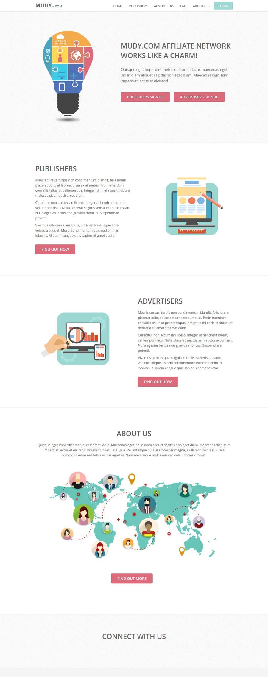 Konkurrenceindlæg #                                        38                                      for                                         Design website for our affiliate network
