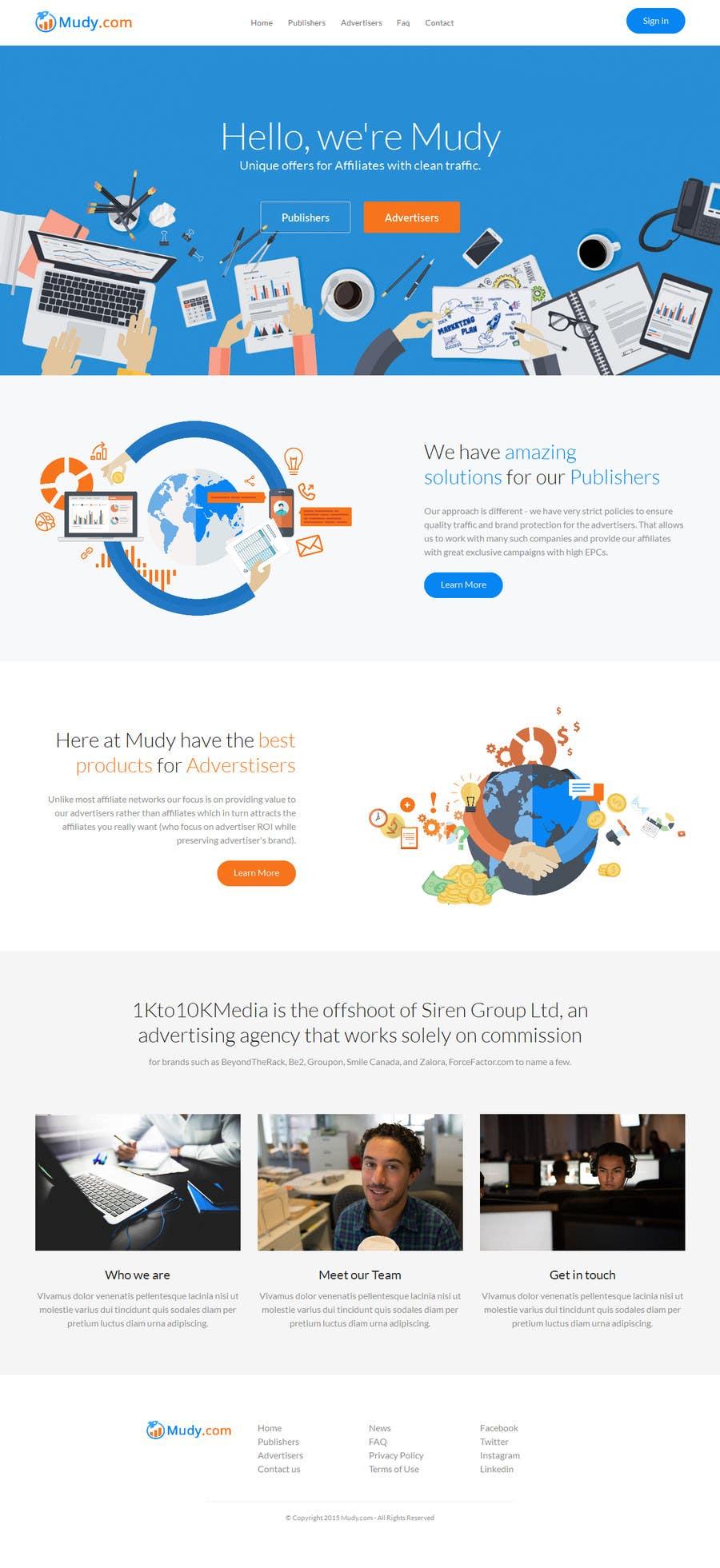 Proposition n°                                        35                                      du concours                                         Design website for our affiliate network