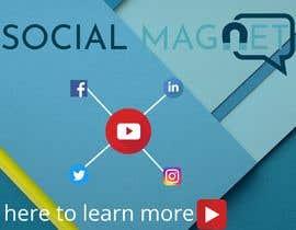 """Nro 24 kilpailuun Seven YouTube Thumbnails for """"Social Magnet"""" käyttäjältä nayan2400000"""