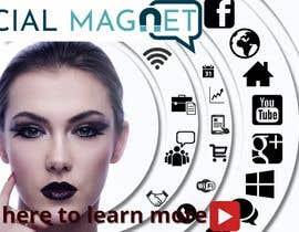 """Nro 25 kilpailuun Seven YouTube Thumbnails for """"Social Magnet"""" käyttäjältä nayan2400000"""