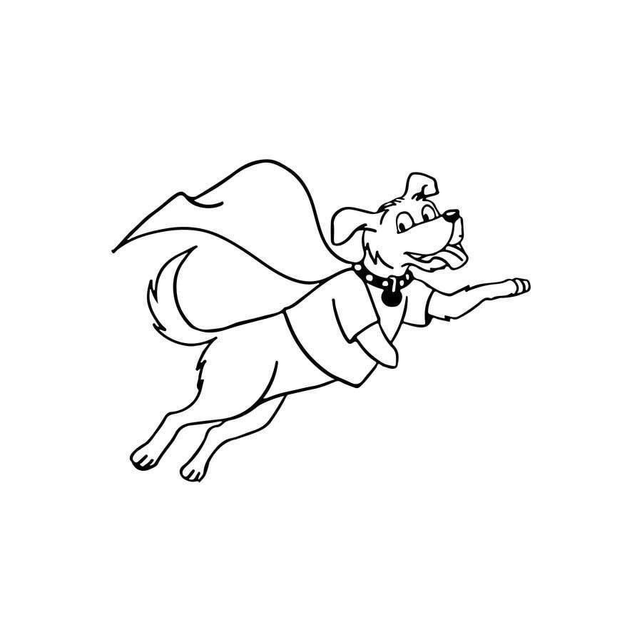 Konkurrenceindlæg #                                        44                                      for                                         Hand Drawing (logo) of ZAM the super dog