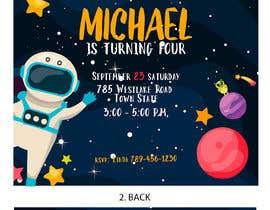 #41 для Create 3 birthday invitations for a birthday party от mgosotelo