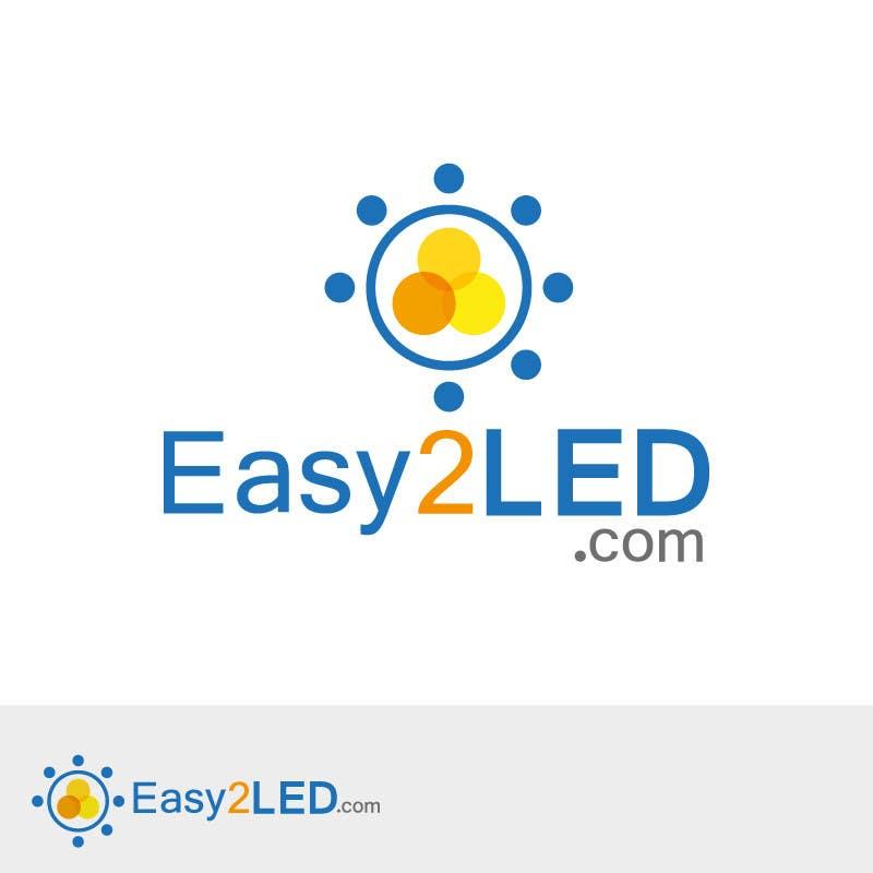 Penyertaan Peraduan #93 untuk Design a Logo for Easy2LED.com