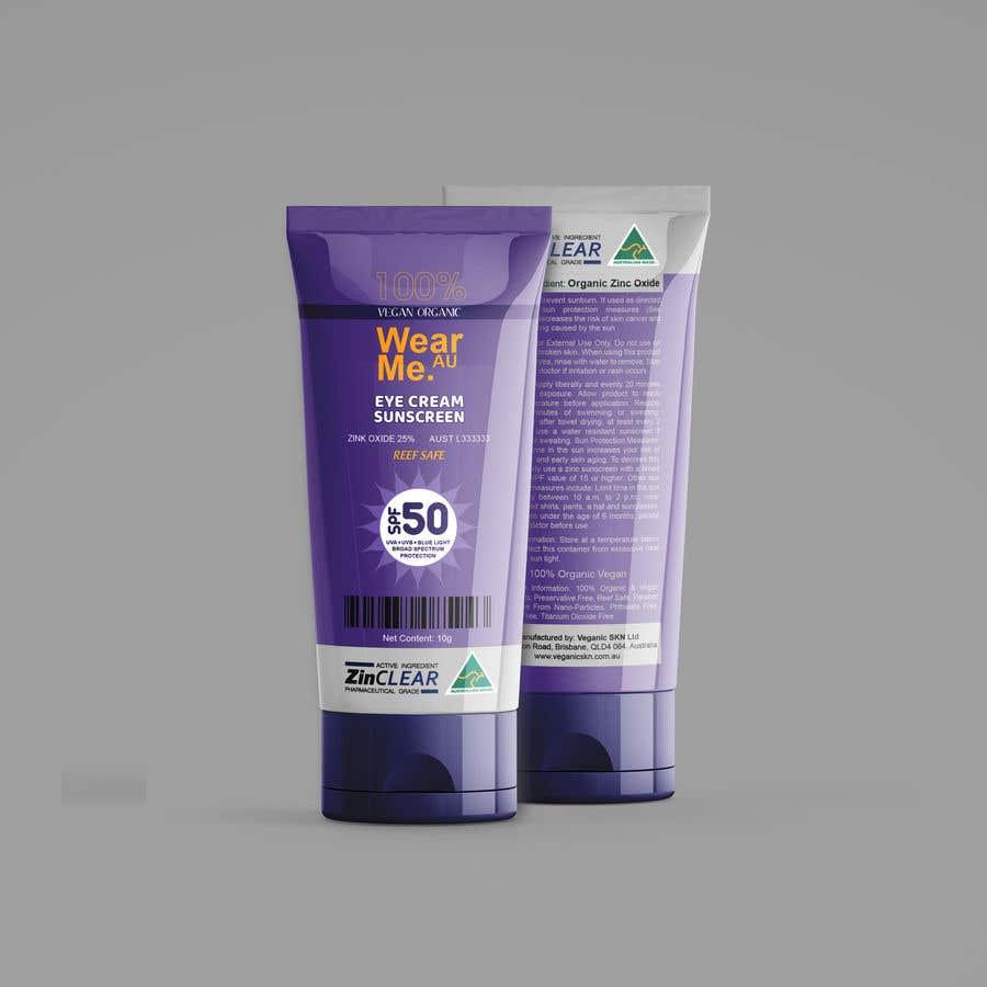 Kilpailutyö #                                        52                                      kilpailussa                                         Design a Sunscreen Tube Packaging!
