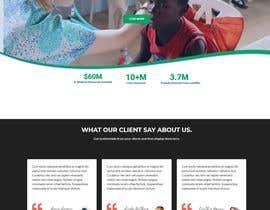 Farjana967 tarafından WordPress photo/home page info layout assistance (for global aid organization) için no 16