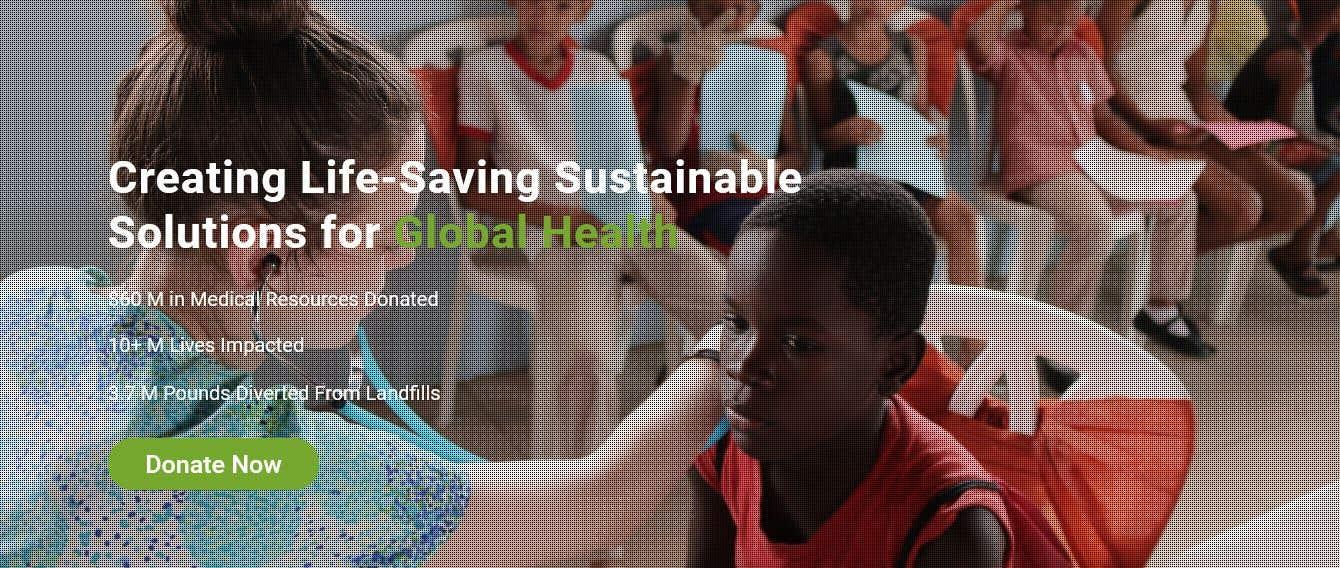 Penyertaan Peraduan #                                        8                                      untuk                                         WordPress photo/home page info layout assistance (for global aid organization)