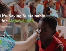 armansheikh2320 tarafından WordPress photo/home page info layout assistance (for global aid organization) için no 8
