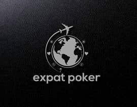 Nro 393 kilpailuun Expat Poker Logo käyttäjältä mdbarik217