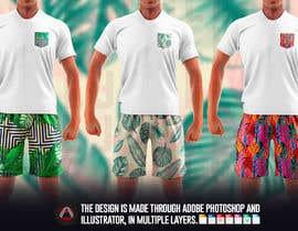 #63 cho Mens swim suit with pocket shirt matching design! bởi allejq99