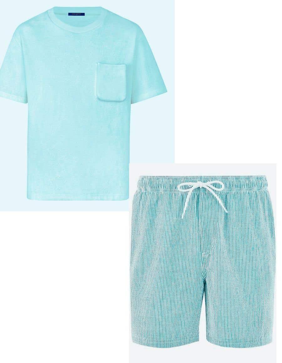 Bài tham dự cuộc thi #                                        28                                      cho                                         Mens swim suit with pocket shirt matching design!