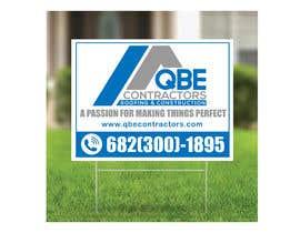 #109 for Design yard sign af mehboob862226