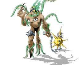 #28 for Concept art for a monster af luismiguelrpg01