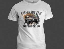 #135 untuk T-Shirt Land Rover Defender 90 design oleh ayshabegum70806