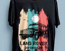 #157 untuk T-Shirt Land Rover Defender 90 design oleh ayshabegum70806