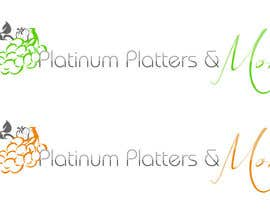 #23 para Design a Logo for Platinum Platters & More por larapujal19