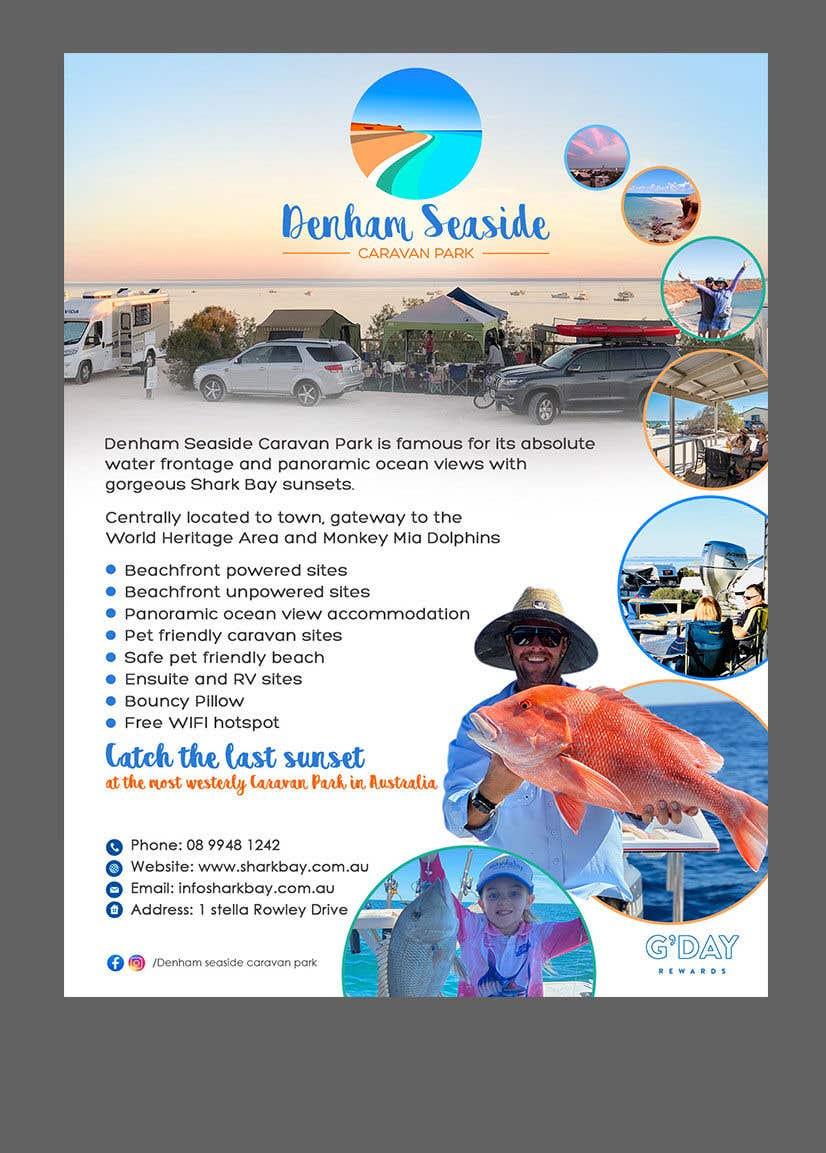 Bài tham dự cuộc thi #                                        31                                      cho                                         Design a Magazine Advertisement for Denham Seaside Caravan Park - 16/06/2021 02:48 EDT