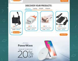 Nro 53 kilpailuun Ecommerce website design mock-up käyttäjältä mdahsanuddin