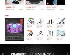 Nro 55 kilpailuun Ecommerce website design mock-up käyttäjältä ChaYanDee
