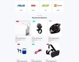 Nro 57 kilpailuun Ecommerce website design mock-up käyttäjältä Emabegum307