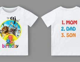 Nro 84 kilpailuun Tshirt design kids party käyttäjältä sjnayeem