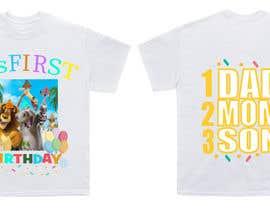 Nro 75 kilpailuun Tshirt design kids party käyttäjältä FAHMIDANUR2411