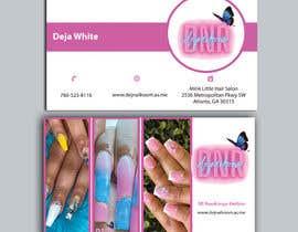 Nro 148 kilpailuun business card design for nails gene käyttäjältä creativeworker07