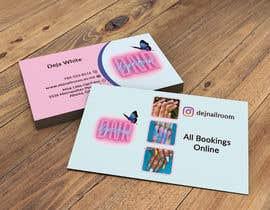 Nro 157 kilpailuun business card design for nails gene käyttäjältä lukman0004