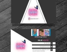 Nro 145 kilpailuun business card design for nails gene käyttäjältä fahimabegum