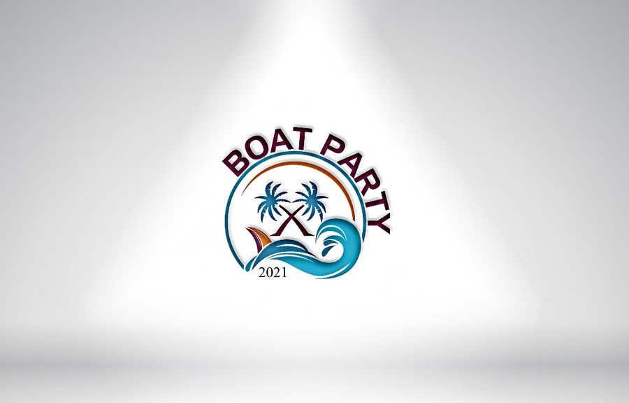 Kilpailutyö #                                        114                                      kilpailussa                                         BoatParty X Logo Design