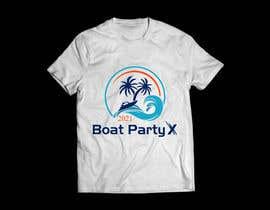 Nro 142 kilpailuun BoatParty X Logo Design käyttäjältä KleanArt