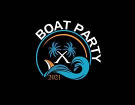 Nro 167 kilpailuun BoatParty X Logo Design käyttäjältä KleanArt