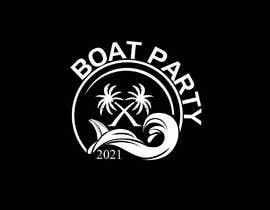 Nro 168 kilpailuun BoatParty X Logo Design käyttäjältä KleanArt