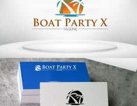 Nro 118 kilpailuun BoatParty X Logo Design käyttäjältä designutility