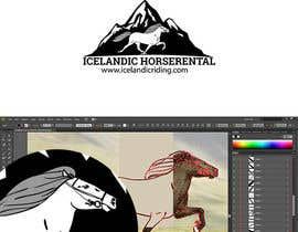 #52 for Design a Logo for Icelandic horserental af lfor
