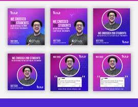 #208 para Design Template for Social Proof Marketing por jafor03