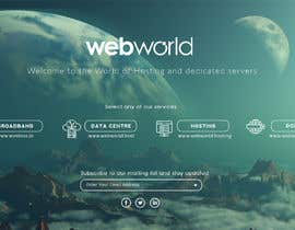 #174 for Creative landing page for hosting company by stylishwork