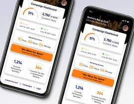 Nro 20 kilpailuun iPhone App Screen Design for GoalPrize Dashboard: UI UX design käyttäjältä marumanit