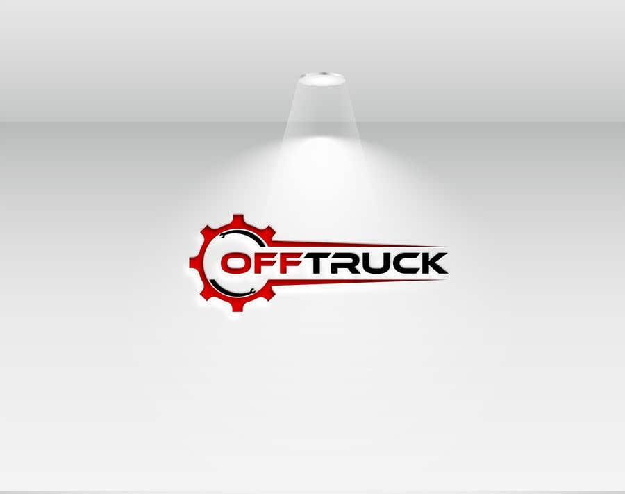 Kilpailutyö #                                        124                                      kilpailussa                                         New logo for OFFTRUCK