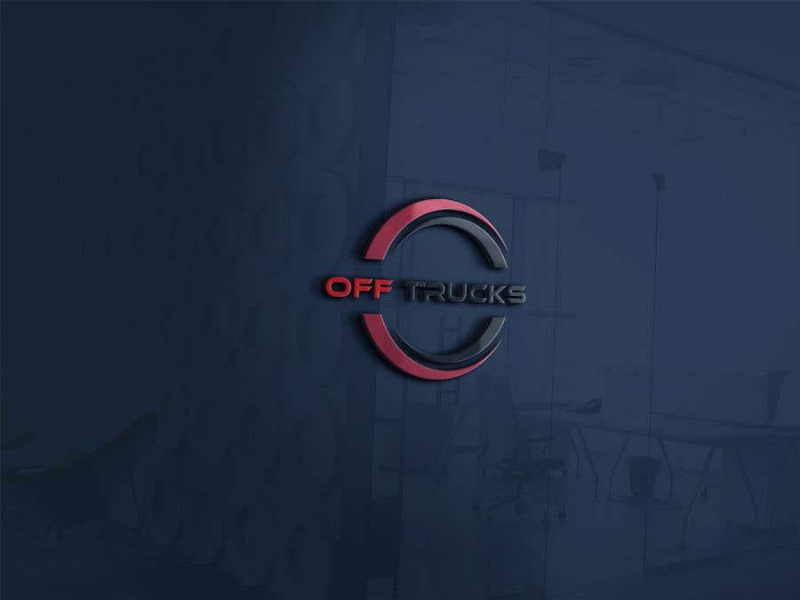 Kilpailutyö #                                        63                                      kilpailussa                                         New logo for OFFTRUCK