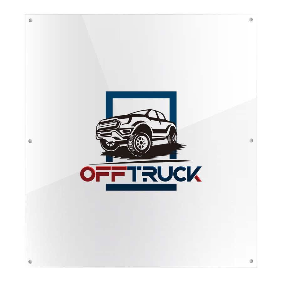 Kilpailutyö #                                        109                                      kilpailussa                                         New logo for OFFTRUCK