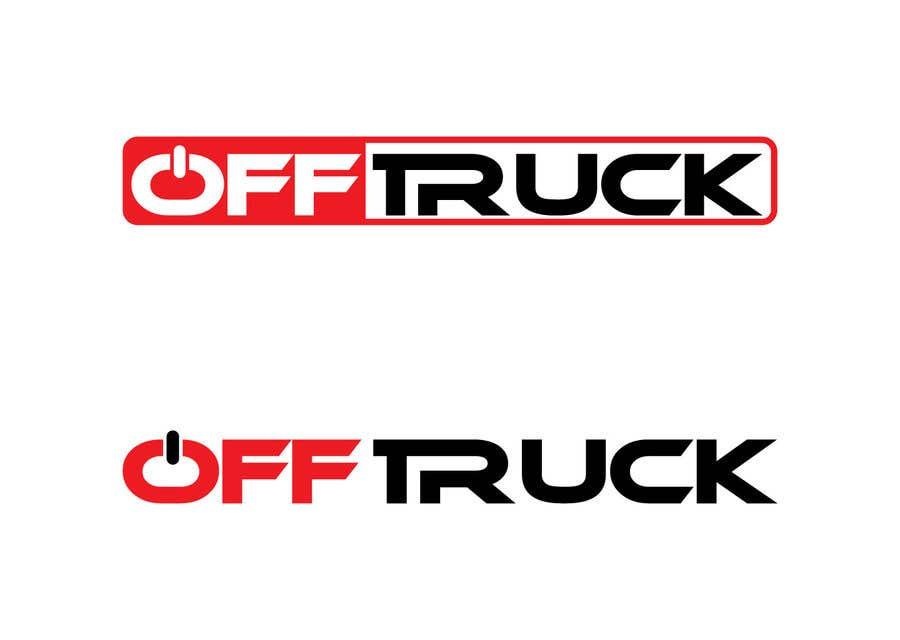 Kilpailutyö #                                        108                                      kilpailussa                                         New logo for OFFTRUCK