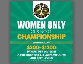 Nro 59 kilpailuun Women's Jiu-Jitsu Event Flyer Virginia and Maryland käyttäjältä printexpertbd