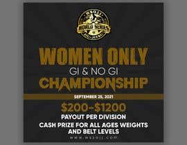Nro 70 kilpailuun Women's Jiu-Jitsu Event Flyer Virginia and Maryland käyttäjältä printexpertbd