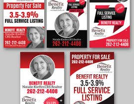 #53 for Real Estate Sign Panel Design by TheCloudDigital