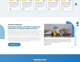 #37 for Landing Page for Pest Control Service (Design Only) af nikil02an