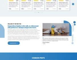 #38 for Landing Page for Pest Control Service (Design Only) af nikil02an