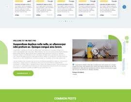 #39 for Landing Page for Pest Control Service (Design Only) af nikil02an