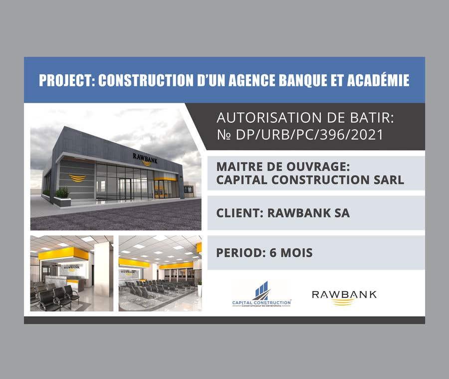 Konkurrenceindlæg #                                        31                                      for                                         Design A Construction Project Billboard